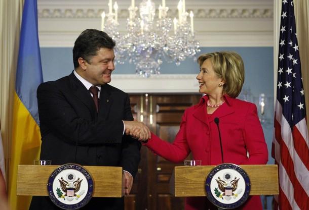 Петр Порошенко просит прямой военной поддержки у США