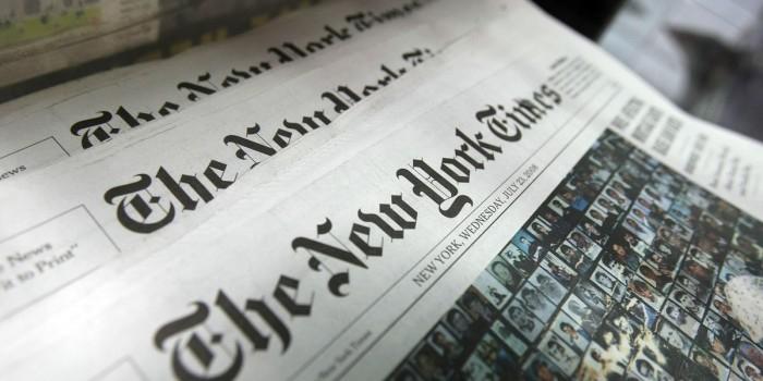 NYT получила Пулитцеровскую премию за статьи о влиянии Путина на выборы в США
