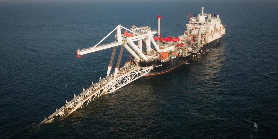 Дания получила расписание планов строительства газопровода Северный поток  2