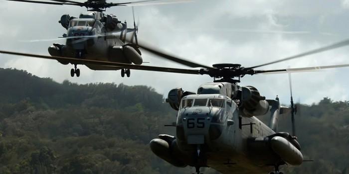 CBS: на Гавайях столкнулись два американских военных вертолёта