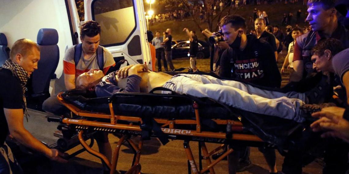 Медики назвали самые распространенные травмы на протестах в Белоруссии