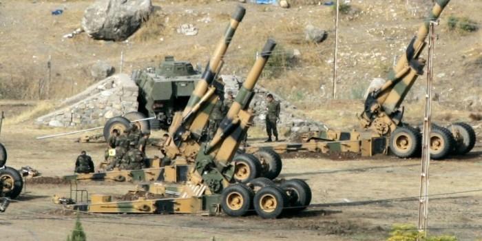 РИА: турецкая артиллерия вступила в бои на стороне террористов