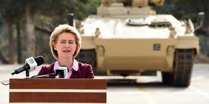 Минобороны Германии намерено устранить разногласия с Россией с позиции силы