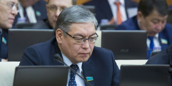 В Казахстане депутат предпочел видео с лосями обсуждению законопроекта