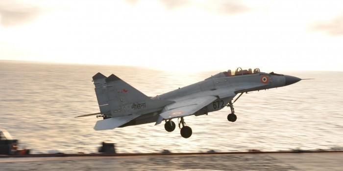 ВМС Индии заменили британские самолеты Sea Harrier российскими МиГ-29К