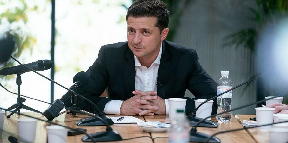 В Киеве не смогли показать представленный Зеленским в США план трансформации страны