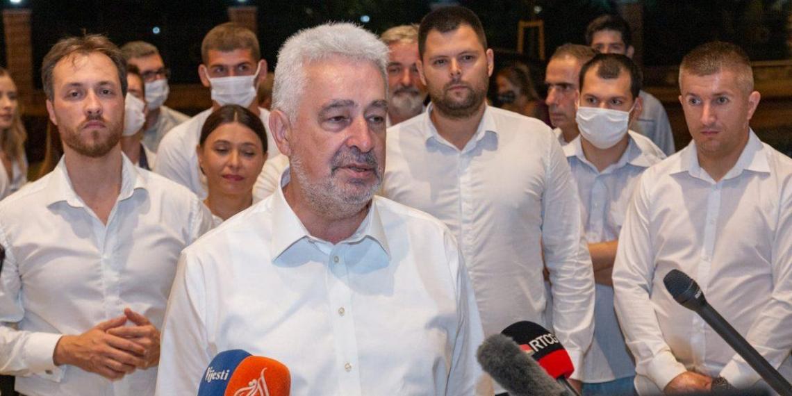 Лидер оппозиции в Черногории считает санкции против России ошибкой