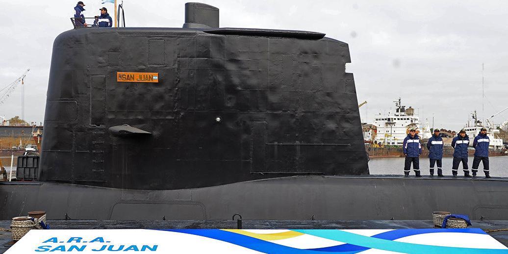 "Аргентина признала гибель экипажа подлодки ""Сан-Хуан"""