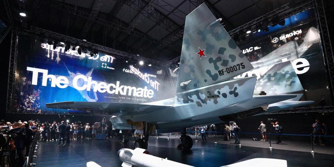 Летчик оценил исход боя Су-75 и F-35