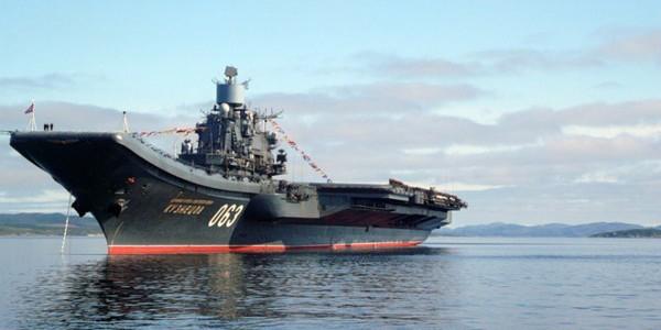 Единственный российский авианосец отправится к берегам Сирии