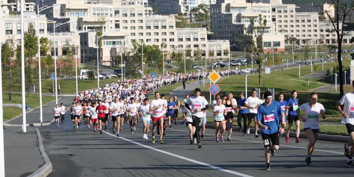 Второй международный марафон стартовал во Владивостоке