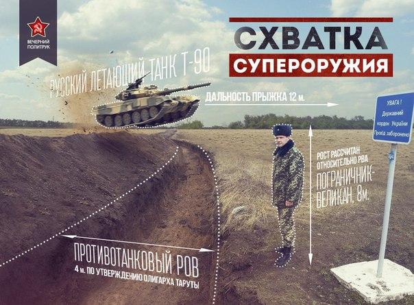 Противовесенние рвы украинской олигархии