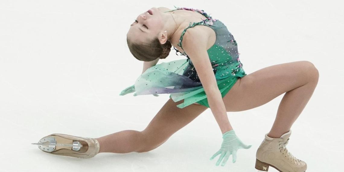 Появилось видео необычной тренировки Александры Трусовой