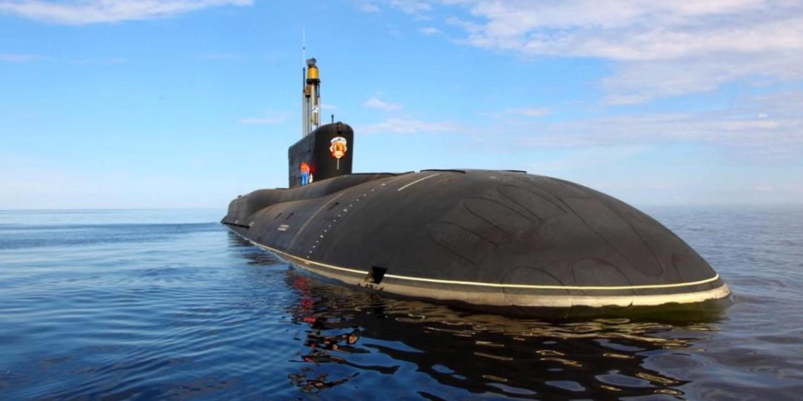 """Атомный крейсер """"Князь Олег"""" спущен на воду"""