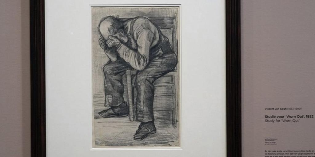 В музее впервые выставили неизвестный ранее рисунок Ван Гога