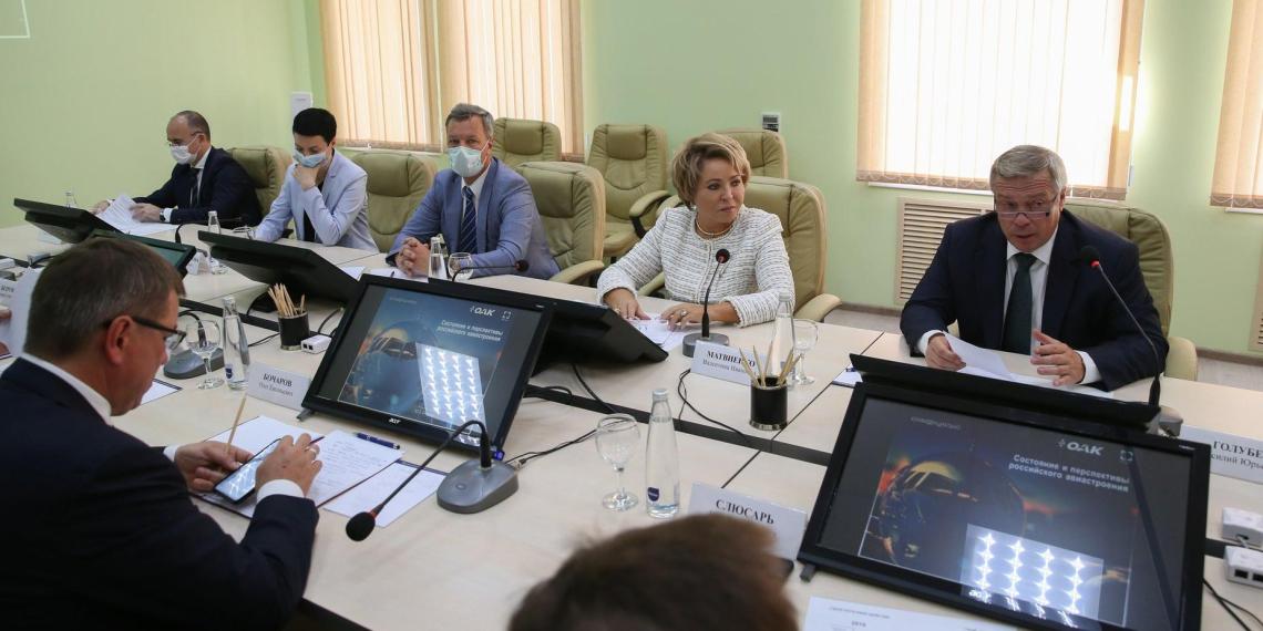 Матвиенко: разработанный в Ростове единый стандарт качества жизни могут распространить на всю страну