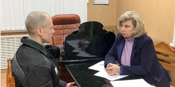 Омбудсмен Москалькова прибыла в колонию, где содержится Дадин