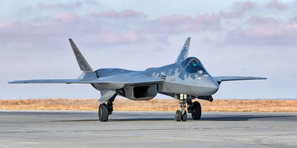 Минобороны показало новые фото Су-57