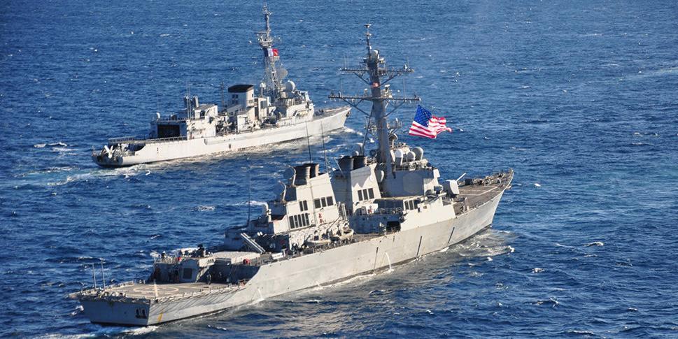 Госдеп США пригрозил России вторжением в воды Крыма