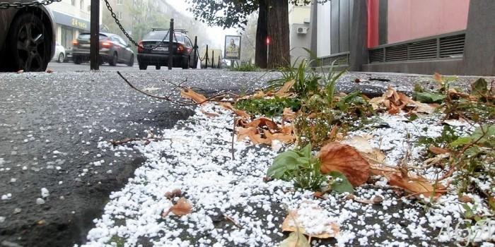 В выходные в Москве снова выпадет снег