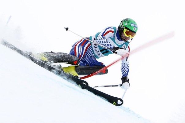 Россиянин впервые в истории стал первым на этапе КМ по горнолыжному спорту