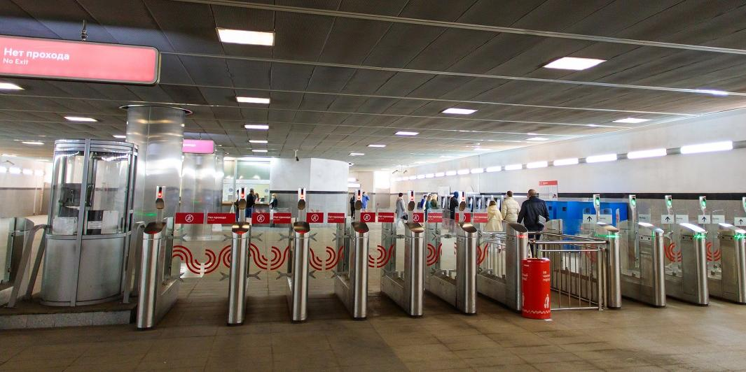 Face Pay запустили на всех линиях метро Москвы