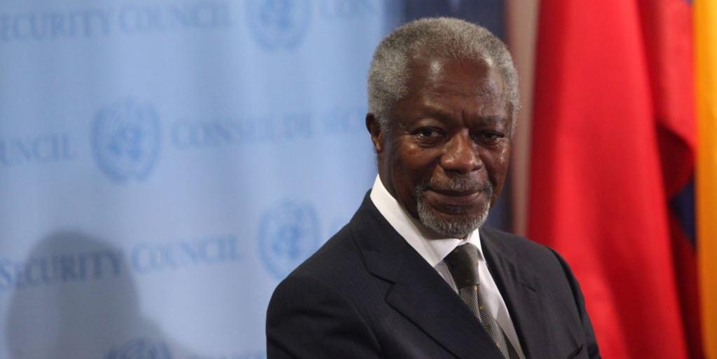 Скончался экс-генсекретарь ООН Кофи Аннан