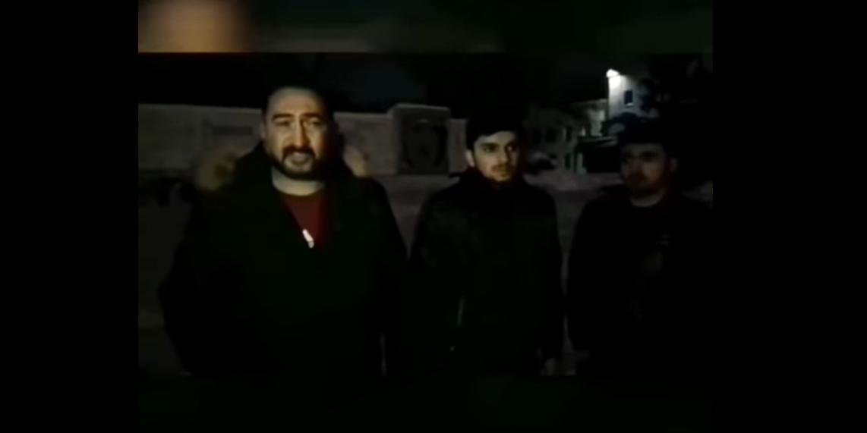 Азербайджанцы на видео извинились за распитие пива у Вечного огня в Вольске