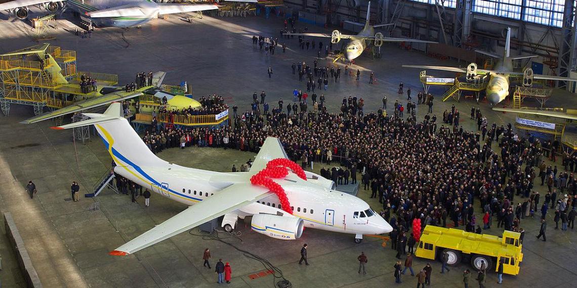 Украина ведет переговоры о производстве самолетов Boeing по лицензии