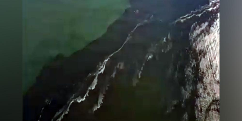 Видео Дудя о пятне в океане у берегов Камчатки оказалось снято в другом месте