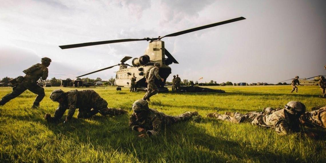 10 американских десантников пострадали на учениях в Эстонии