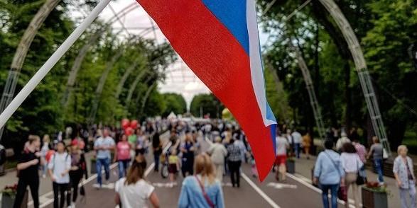 Мероприятия ко Дню России в Сокольниках собрали более 200 тысяч человек
