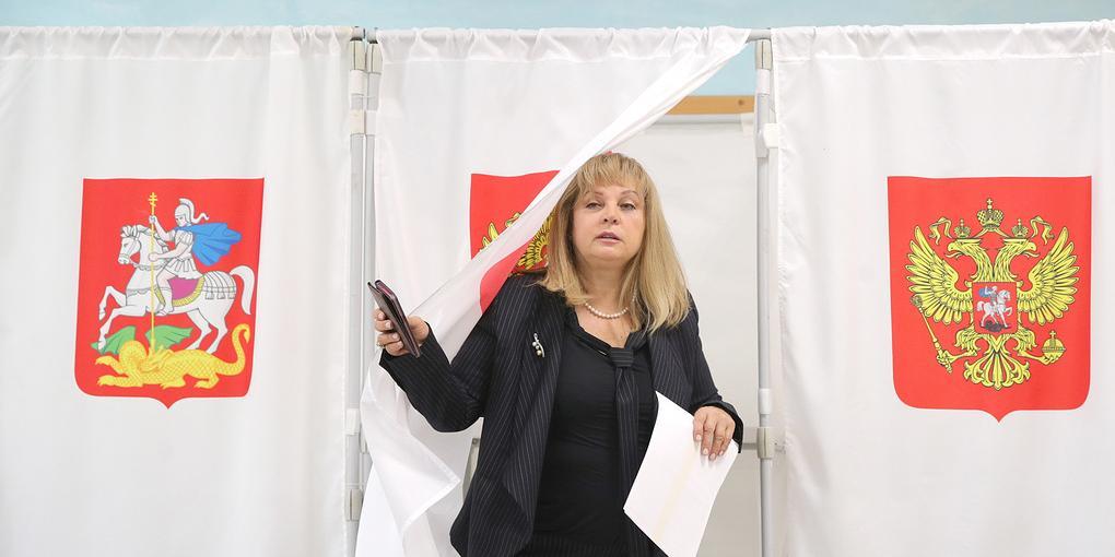 Памфилова проголосовала на выборах в Подмосковье