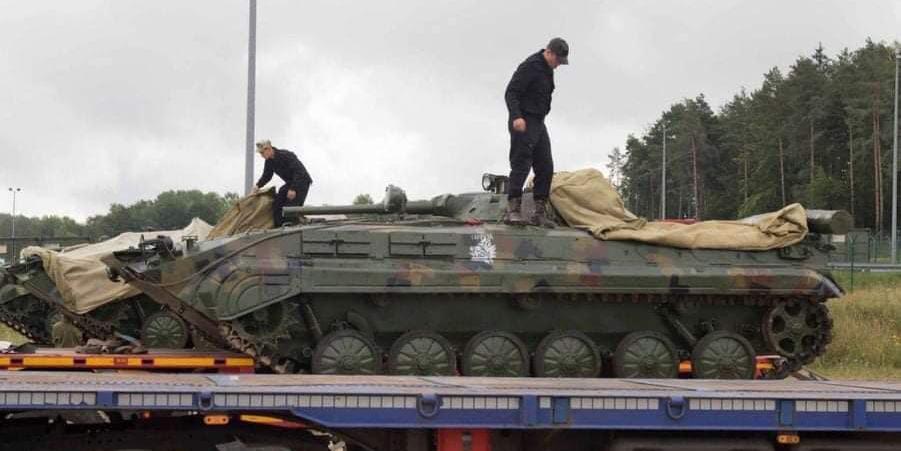 Украинских военных унизили на учениях НАТО в Германии