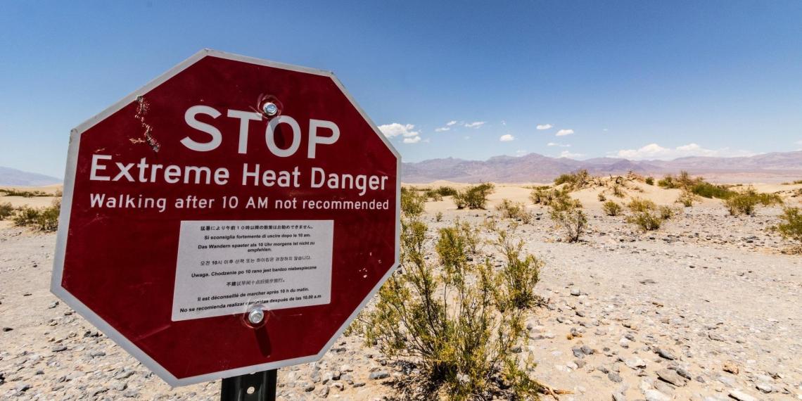 Побит рекорд максимальной температуры на планете