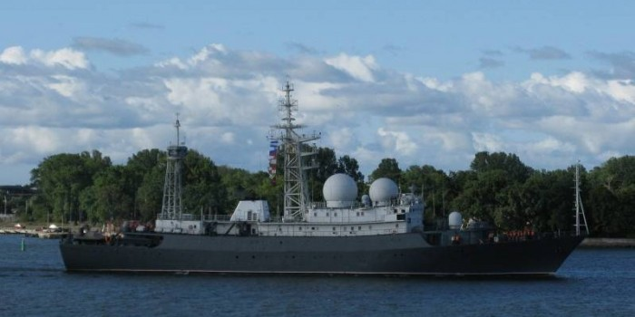 Корабль-разведчик ВМФ России отправлен к берегам Сирии