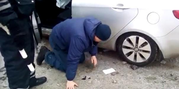 На Урале пьяный проктолог въехал в зад иномарке