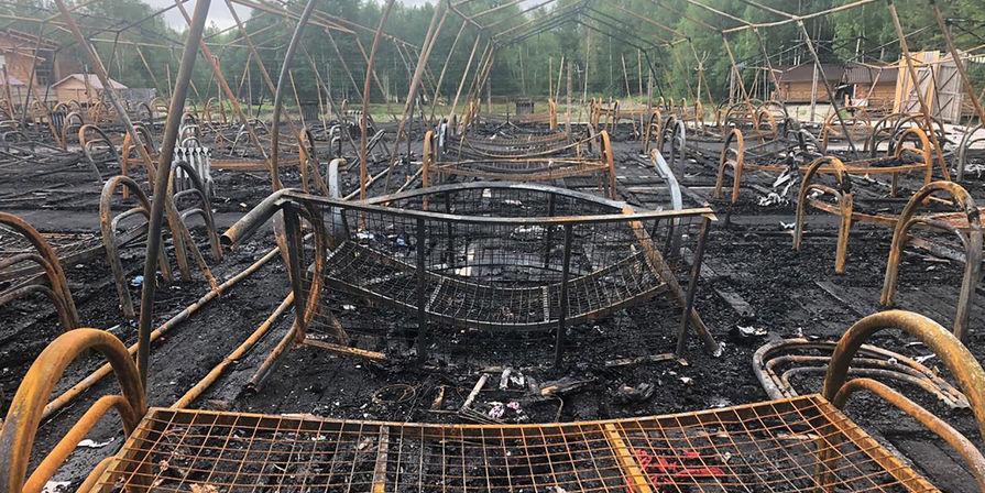 """Суд арестовал руководство сгоревшего лагеря """"Холдоми"""""""