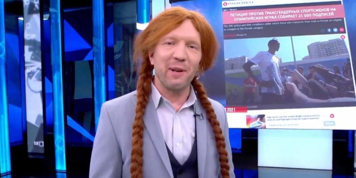 Ведущий Первого канала ответил на критику британских СМИ из-за шуток о трансгендерной штангистке