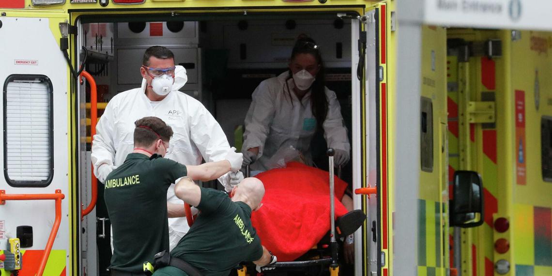 В Британии рекорд по числу умерших от коронавируса с начала пандемии