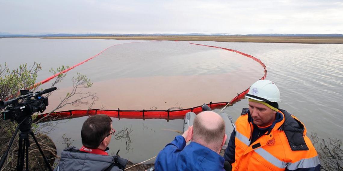 Ущерб от разлива топлива в Норильске оценили в 148 миллиардов