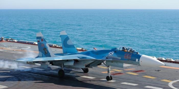"Комиссия Минобороны назвала причину аварии Су-33 на авианосце ""Адмирал Кузнецов"""