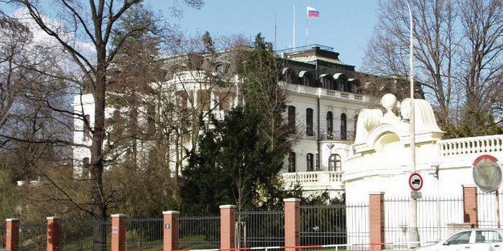 В Праге хотят переименовать площадь перед посольством РФ в честь Немцова