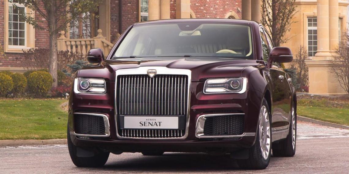 В России запущен серийный выпуск автомобилей Aurus
