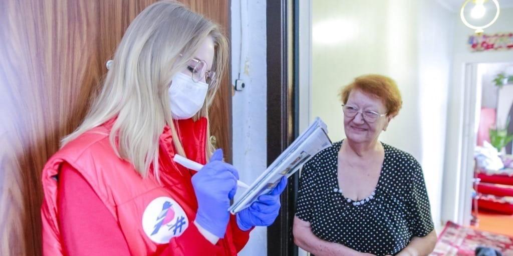 """""""Расплакались, трогательно было"""": волонтер рассказала о помощи пожилым на самоизоляции"""