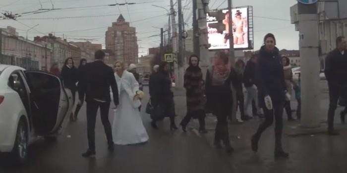 Видеоролик о тульской сбежавшей невесте оказался фейком