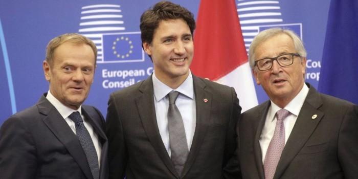 Евросоюз и Канада подписали соглашение о зоне свободной торговли