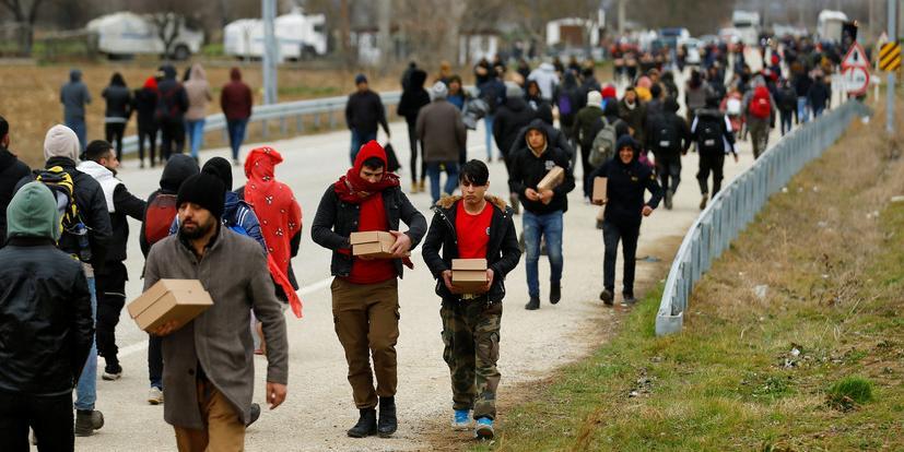 Эрдоган отказал ЕС в закрытии границ для беженцев