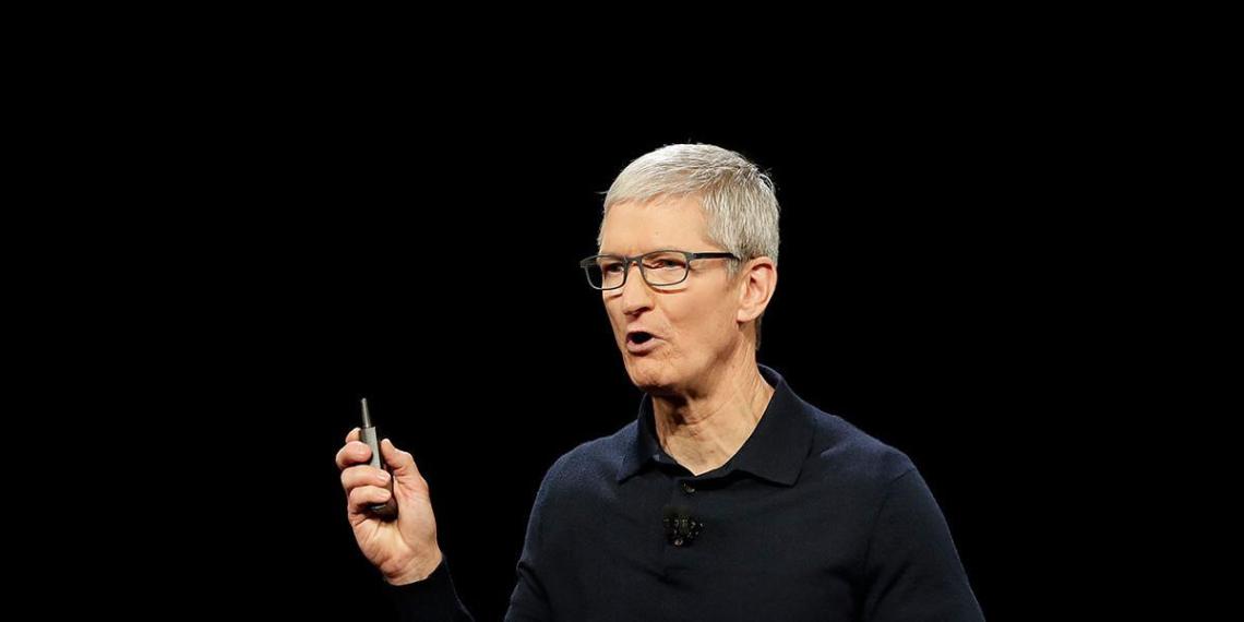 Глава Apple разочаровался в российском рынке