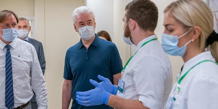 Собянин заявил, что у 60% москвичей создан коллективный иммунитет к коронавирусу